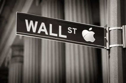 apple wallstreet