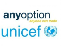 AnyOption soutient l'UNICEF